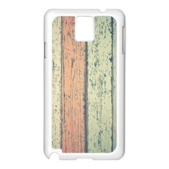 Abstract Board Construction Panel Samsung Galaxy Note 3 N9005 Case (white)