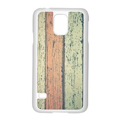 Abstract Board Construction Panel Samsung Galaxy S5 Case (White)