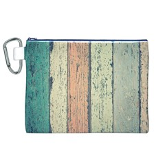 Abstract Board Construction Panel Canvas Cosmetic Bag (XL)