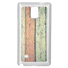 Abstract Board Construction Panel Samsung Galaxy Note 4 Case (white)