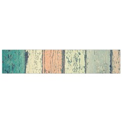 Abstract Board Construction Panel Flano Scarf (Small)