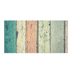 Abstract Board Construction Panel Satin Wrap