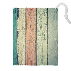 Abstract Board Construction Panel Drawstring Pouches (XXL)