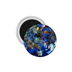 Abstract Farm Digital Art 1.75  Magnets