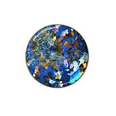 Abstract Farm Digital Art Hat Clip Ball Marker
