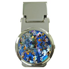 Abstract Farm Digital Art Money Clip Watches