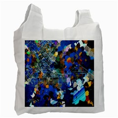 Abstract Farm Digital Art Recycle Bag (One Side)