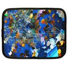 Abstract Farm Digital Art Netbook Case (XXL)