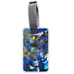 Abstract Farm Digital Art Luggage Tags (Two Sides)