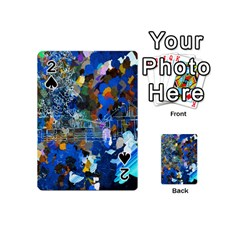 Abstract Farm Digital Art Playing Cards 54 (Mini)