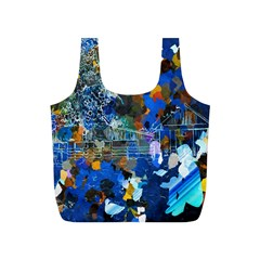 Abstract Farm Digital Art Full Print Recycle Bags (S)