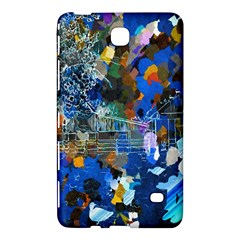 Abstract Farm Digital Art Samsung Galaxy Tab 4 (7 ) Hardshell Case