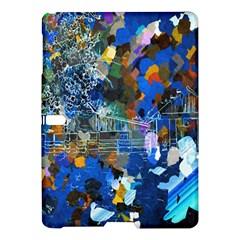 Abstract Farm Digital Art Samsung Galaxy Tab S (10.5 ) Hardshell Case