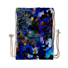 Abstract Farm Digital Art Drawstring Bag (Small)