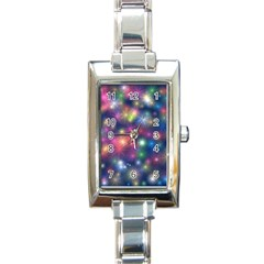 Abstract Background Graphic Design Rectangle Italian Charm Watch