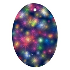 Abstract Background Graphic Design Ornament (oval)