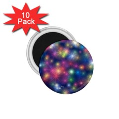 Abstract Background Graphic Design 1.75  Magnets (10 pack)
