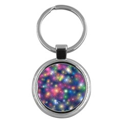 Abstract Background Graphic Design Key Chains (Round)
