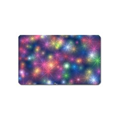 Abstract Background Graphic Design Magnet (Name Card)