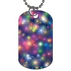 Abstract Background Graphic Design Dog Tag (Two Sides)