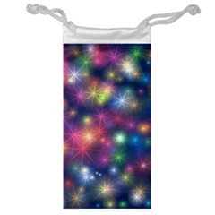 Abstract Background Graphic Design Jewelry Bag