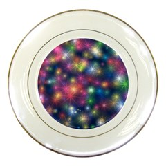 Abstract Background Graphic Design Porcelain Plates