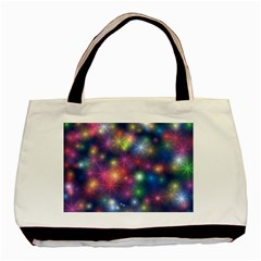 Abstract Background Graphic Design Basic Tote Bag