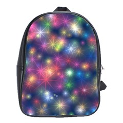 Abstract Background Graphic Design School Bags(large)