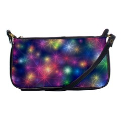 Abstract Background Graphic Design Shoulder Clutch Bags