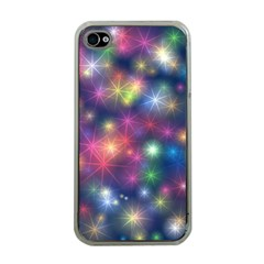 Abstract Background Graphic Design Apple iPhone 4 Case (Clear)