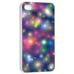 Abstract Background Graphic Design Apple Iphone 4/4s Seamless Case (white)