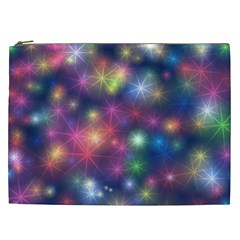 Abstract Background Graphic Design Cosmetic Bag (xxl)