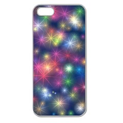 Abstract Background Graphic Design Apple Seamless Iphone 5 Case (clear)