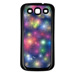 Abstract Background Graphic Design Samsung Galaxy S3 Back Case (Black)