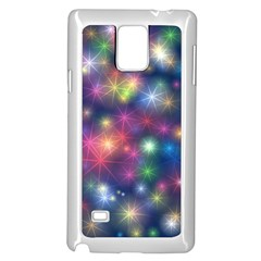 Abstract Background Graphic Design Samsung Galaxy Note 4 Case (White)