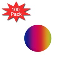 Abstract Rainbow 1  Mini Buttons (100 Pack)
