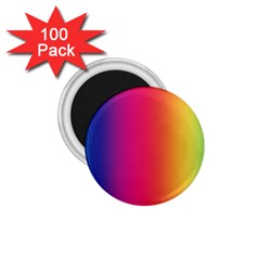 Abstract Rainbow 1.75  Magnets (100 pack)
