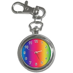 Abstract Rainbow Key Chain Watches