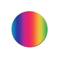 Abstract Rainbow Magnet 3  (Round)