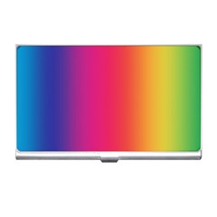 Abstract Rainbow Business Card Holders