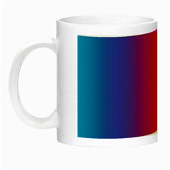 Abstract Rainbow Night Luminous Mugs