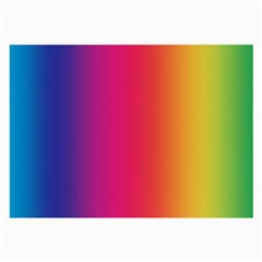 Abstract Rainbow Large Glasses Cloth (2-Side)