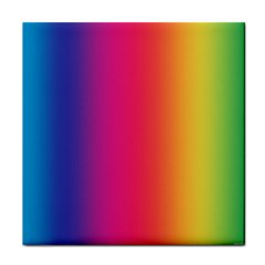 Abstract Rainbow Face Towel