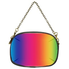 Abstract Rainbow Chain Purses (one Side)