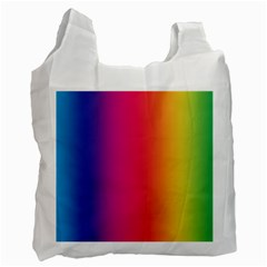 Abstract Rainbow Recycle Bag (Two Side)