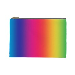 Abstract Rainbow Cosmetic Bag (Large)