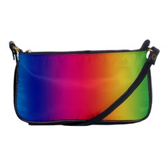 Abstract Rainbow Shoulder Clutch Bags