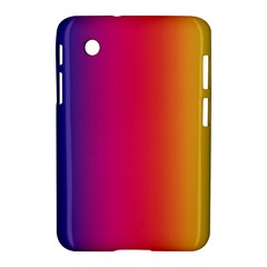 Abstract Rainbow Samsung Galaxy Tab 2 (7 ) P3100 Hardshell Case