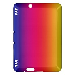 Abstract Rainbow Kindle Fire Hdx Hardshell Case