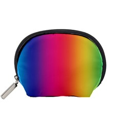 Abstract Rainbow Accessory Pouches (small)